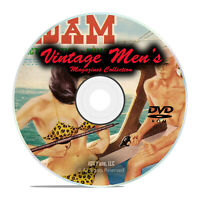 200 Issues of Vintage Men's Interest Magazines, for Guys, Female Art PDF DVD I30
