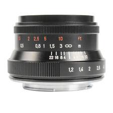 7Artisans 35mm F1.2Ⅱ Large Aperture Mirrorless Lens For Sony E,Fuji FX,NIKON Z