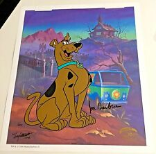 Hanna Barbera Takamoto Classic Scooby Doo Cel Rare Number 1 Edition Signed Cell
