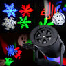 Snowflake Outdoor Moving LED Laser Light Projector Landscape Xmas Garden Lamp