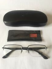 Rayban Mens Ophthalmic Supra Frame Model ORX6285 in Colour 2503 Matte Black