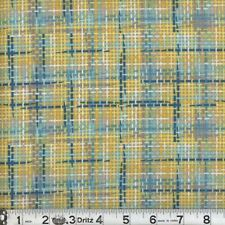 Zapper 09 Multi-Color Plaid Cotton Quilting Sewing Fabric - Colorful - BTY