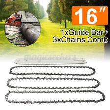 16 inch Guide Bar 3 Chains Combo For STIHL 009 012 021 E160 E180 SE1.8 MS180 US