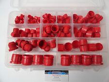 Hydraulic JIC Plastic Cap and Plug Kit Set 124pc 6 Sizes