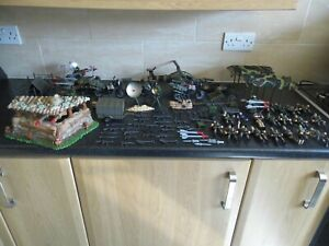 GI JOE/ACTION FORCE JOB LOT INCLUDES OVER 20 ACTION FIGURES WEAPONS VEHICLES