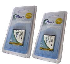 2 Battery for FUJI FUJIFILM NP-50 Pentax S10 S12 D-LI68 BC-50 F85EXR KODAK Zi8~