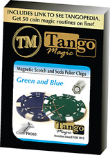 Magnetic Scotch and Soda Poker Chips by Tango PK005 from Murphy's Magic