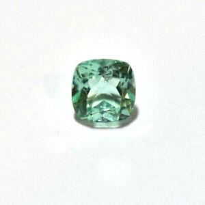 Emerald .67ct Cushion cut natural Emerald