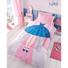 principessa abito singolo piumino di copertura & Federa rosa Biancheria da letto