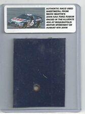 MARK MARTIN NASCAR RACE USED SHEET METAL INDY CAR PIECE 2006 MM-301