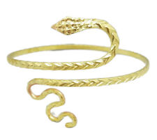 Snake Upper Arm Bracelet Cuff Bangle Armband Armlet Gold Fashion Belly Dance New