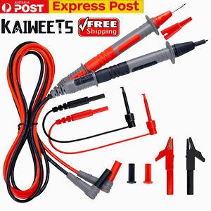 KAIWEETS Multimeter Test Leads for Fluke Meter Electrical Alligator Clip Probes