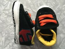 Etnies Infant Fader Crib Shoes Size US 2 UK 1.5 Baby Skate Shoes Sneakers Suede