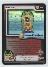2002 Dragonball Z TCG: World Games Booster Pack Base #103 Red Trap Card 0a1