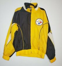 Vintage 90's NFL Pittsburgh Steelers Pro Player Coat Jacket Football - Size L