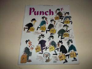 Punch magazine  Jan. 27, 1962  British humor magazine Good