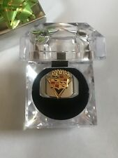 New Men's Heavy Stainless Steel V-8 Cadillac Owners Ring