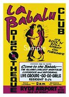 La Babalu Club, Ryde, Isle of Wight - Exclusive Limited Edition Poster