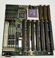 UMC motherboard + AMD 486 66MHz + 4MB RAM