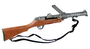 MINIATURE 1/6 BRITISH LANCHESTER SUBMACHINE GUN SMG WWII COMMANDO REMOVABLE CLIP