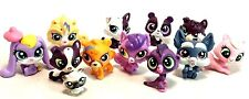 "Littlest Pet Shop Mixed Lot 12 Miniature Kitty Cat 1"" Figure Loose EUC Baby Tiny"