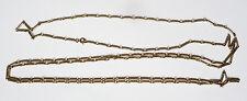 Grand sautoir collier chaine en métal chain 192 cm