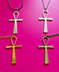 Ankh Cross Necklaces ~ 4 Variations ~ Was £3.95 ~ **NOW ONLY £3.50**