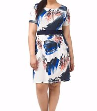 Triste Chic Abstract Chelsea Dress Size 5X