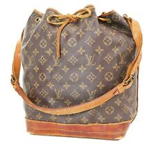 Authentic LOUIS VUITTON Noe Monogram Shoulder Tote Bag Purse #37621