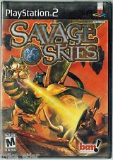 Savage Skies (Sony PlayStation 2, 2002) Factory Sealed