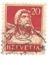 Einzelmarke Schweiz/Helvetia - 20 Rappen - Wilhelm Tell - 1932