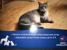 New SSSCAT Motion detection combined with a spray