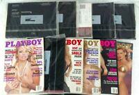 Playboy Magazine 1999 / 11 Issues February thru December / (Many Still Sealed)