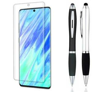 Stylus + FULL COVER Screen Protector For Samsung Galaxy S21 / S21+ Plus / Ultra