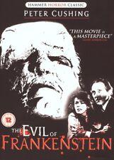 HAMMER HORROR DVD – EVIL Of FRANKENSTEIN – PETER CUSHING