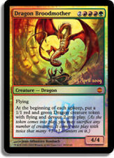 JAPANESE Dragon Broodmother - Foil - Prerelease Promo - Pre-Release Promos - NM,