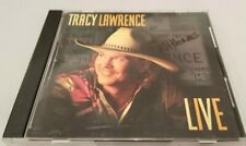 """Tracy Lawrence - """"Live"""" (1995) Import CD VG Condition"""