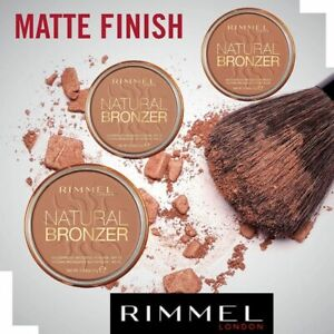 Rimmel London Natural Waterproof Bronzing Powder 14g SPF15 New Free UK Delivery