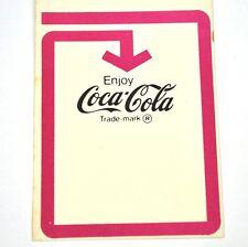 Vintage Coca-Cola Coke Flaschen Anhänger USA 1960er Bottle Hanger