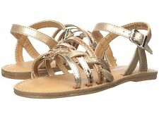 Little Girls Gold Sandals by Nina Girls  Open Toe  - Little Girls  Size 8