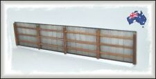 AF10 HO Scale Australian 8' Light Grey Galvanised Iron Fencing 1.12 metres