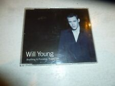 WILL YOUNG - Anything Is Possible - 2002 UK 2-track CD single