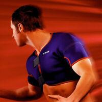 Vulkan 3021 Double Shoulder Support Brace Pain Relief Neoprene Rugby Sport Strap
