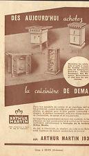 08 REVIN CUISINIERES ARTHUR MARTIN PUBLICITE 1937