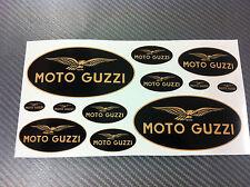 Kit Adesivi MOTO GUZZI BLACK & GOLD 12 pz.
