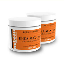 2 Jars DHEA MAX: Bioidentical Vegan DHEA Supplement Cream ~180 Dose