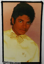 MICHAEL JACKSON Vintage 1980`s  Sew On Patch/Photo Patch Made In England #5