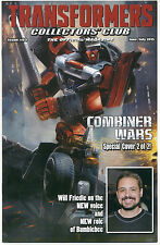 TRANSFORMERS COLLECTORS CLUB MAGAZINE #63 June / July 2015, Cover 2