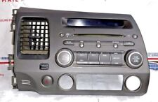 2006 2007 2008 2009 2010 Honda Civic Radio CD Player Stereo Unit with Trim AS IS