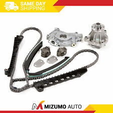 Timing Chain Kit w/o Gears Water Oil Pump Fit 97-02 Ford Lincoln 5.4 330CID 2V